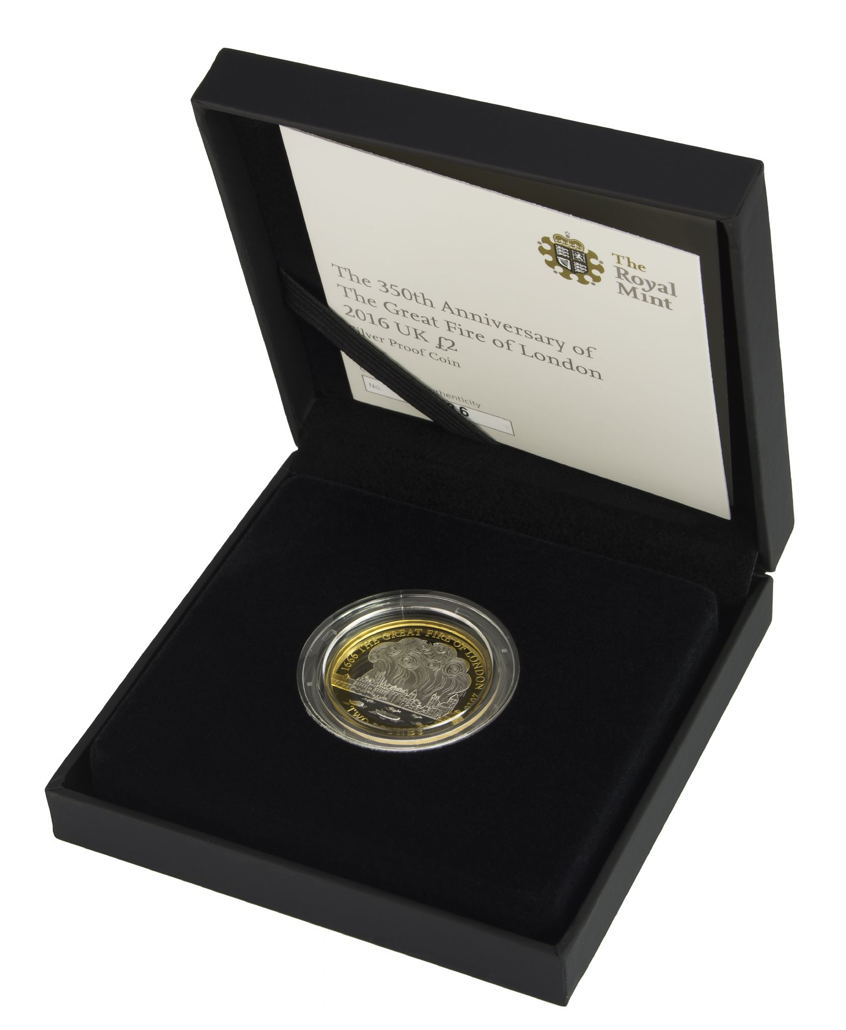 2016 Silver Proof 2 Great Fire Of London For Sale